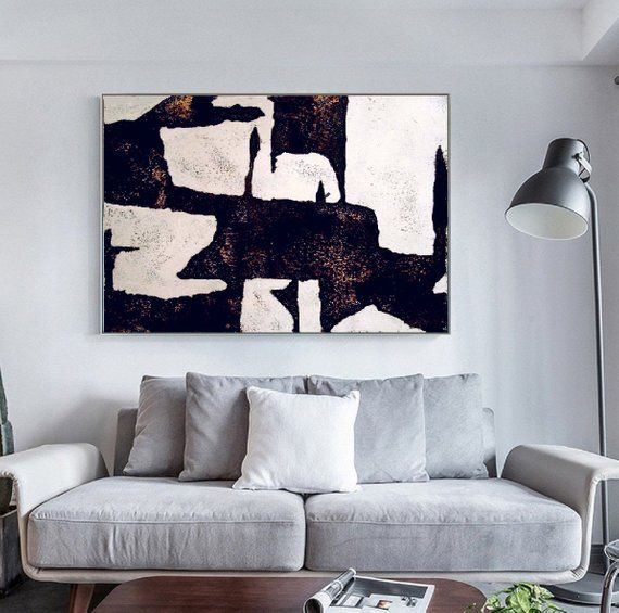 Original Art Black And White Abstract Painting On Canvas Art Etsy Abstract Canvas Art Abstract Canvas Painting Abstract Painting