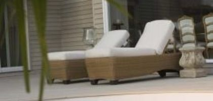 How to Remove Tree Sap From Outdoor Furniture | eHow