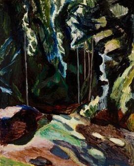 Skygger i skogen By Henrik Sørensen ,1917