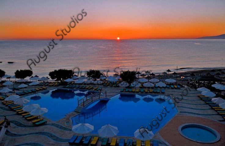 View from hotel Creta Maris in Hersonissos Crete Greece