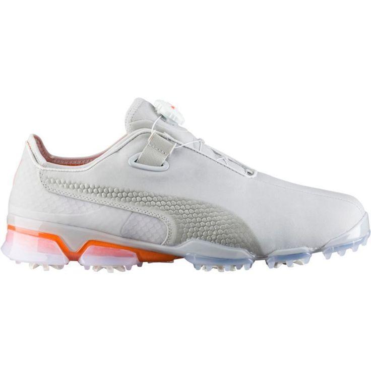 Puma Titantour Ignite Premium Disc Golf Shoes, Men's, Gray