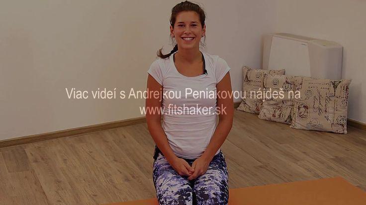 Cvičenie 5 tibeťanov - Andrea Peniaková pre Fitshaker.sk - cvičenie na d...
