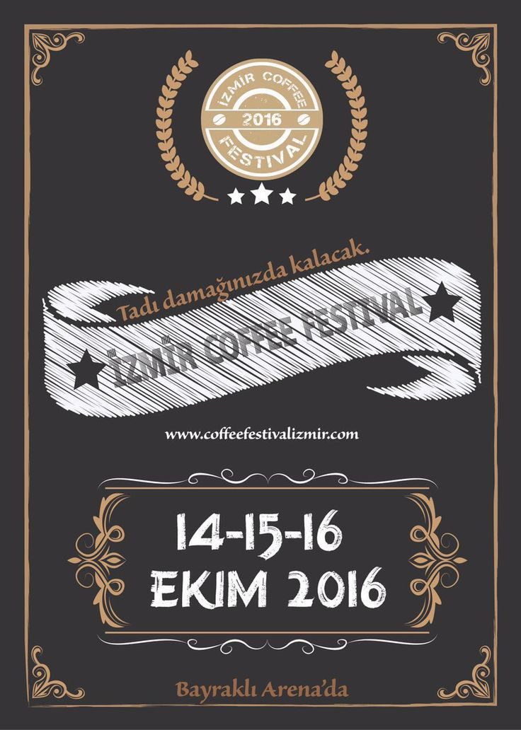 İzmir Coffee Festival Turkey. Lets fun!!!