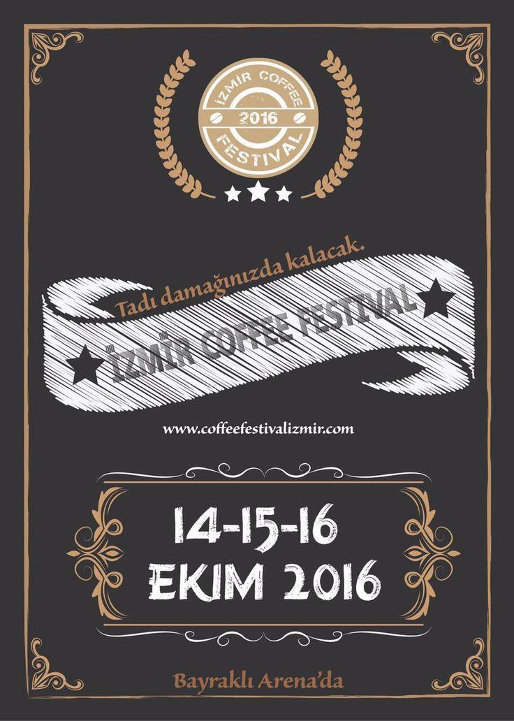İzmir Coffee Festival Turkey. Lets fun!!!