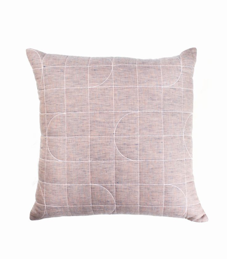 The Stables offers a beautiful collection of Australian designed cushions. The LISBET cushion is made from a stunning quilted linen.  Colour: misty rose.  Dimensions: 50cm x 50cm Includes feather insert. $89.95 AUD www.thestablesco....