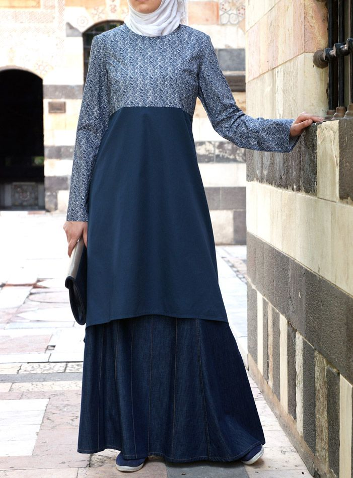 Easily dressed up for Eid and dressed down for post-Eid activities with the kids. From shukronline.com