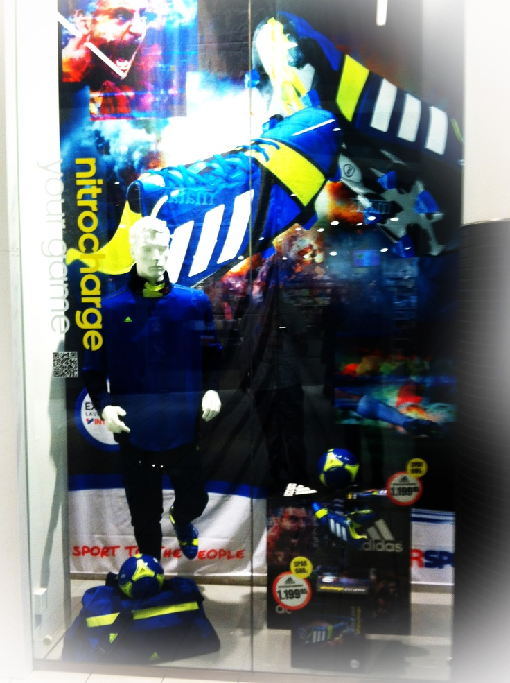 Window Aalborg Friis Adidas NitroCharge  - by EnaEna & Ragus & Co