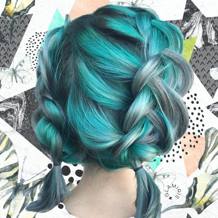 best 25 aqua hair ideas on pinterest teal hair