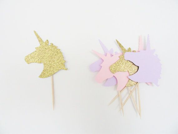 Unicorn Cupcake Topper, Unicorn Party, Unicorn First Birthday, Unicorn 1st Birthday, Unicorn Party Decorations, Unicorn Party Supplies – Unicorn baby shower