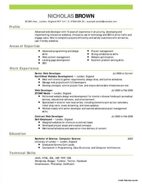 resume wizard word 2010
