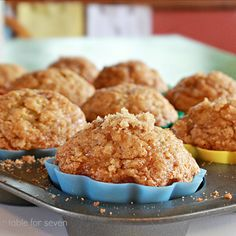 table for seven: Banana Cinnamon Muffins