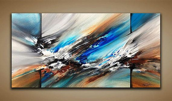 Abstract Painting Wall Art Contemporary Abstract Modern Art