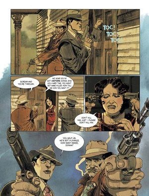 Trigger warning: the return of sleazy crime comics | Books | The Guardian