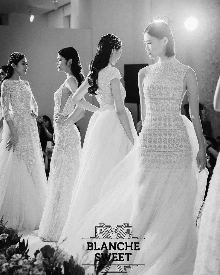 Ersa Atelier fw 15 fashion show at Blanche Sweet Designer Bridal Room in Taipei