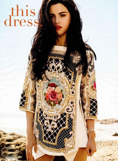 : Selena Gomez, Balmain, Fashion, Selenagomez, Style, Dresses, Elle Magazine, People