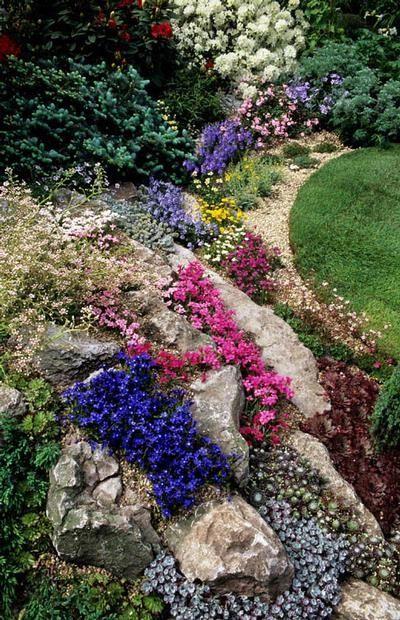 Alpine Garden Design Exterior 69 Best Slopes And Hillsides Images On Pinterest  Landscaping .