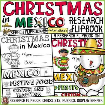 THIS RESOURCE IS INCLUDED IN THE BUNDLE:CHRISTMAS: INFORMATIONAL REPORT WRITING RESEARCH FLIPBOOKS BUNDLE ************************************************************* CHRISTMAS IN MEXICO INFORMATIONAL REPORT WRITING RESEARCH FLIPBOOK Have your