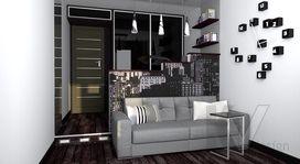 Дизайн узкой комнаты, фото интерьеров и описания проектов