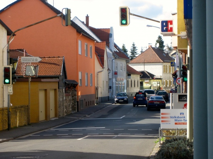 """Tara Thomas on her son's walk to school in the German village of Sulzbach am Taunus: """"If he had the time, Samuel would properly greet the puppy, letting him leap up and lick his cold face. Not today, though."""""""