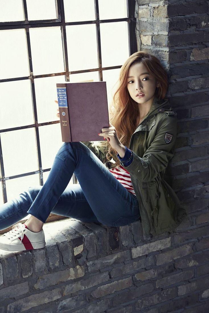 KARA Goo Hara and BTOB Sung Jae, Min Hyuk, Il Hoon - High Cut Magazine Vol.146