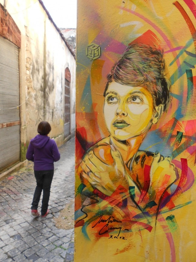 C215 in Lisboa - Street Art