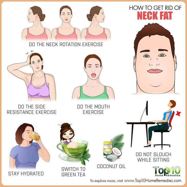 How To Get Rid Of Neck Fat With Exercise