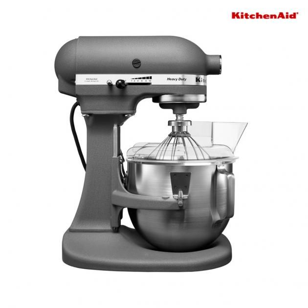KitchenAid 4.8 L Bowl-Lift Stand Mixer-2 Bowls Grey 5KPM50BGR