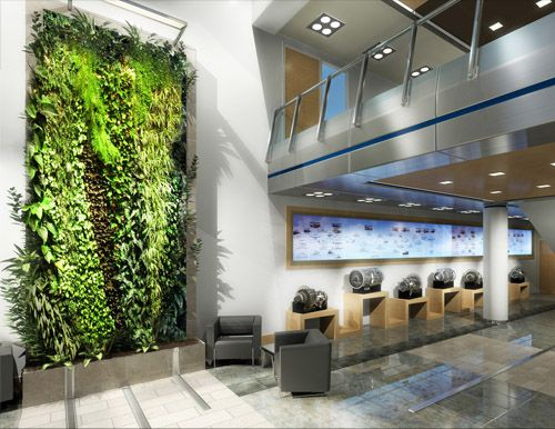 17 best images about go green walls on pinterest gardens for Green interior designs