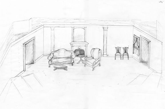 A Raisin In The Sun Set Design Blueprints Google Search