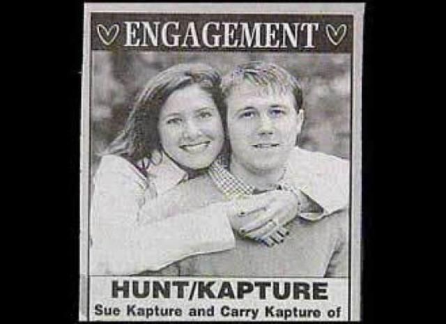 22 Best Funny Wedding Announcements Images On Pinterest
