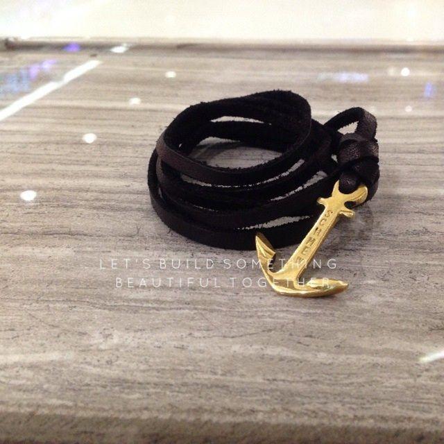 Saya menjual Gelang kulit Anchor seharga Rp100.000. Dapatkan produk ini hanya di Shopee! http://shopee.co.id/schmewgoods/3193727 #ShopeeID