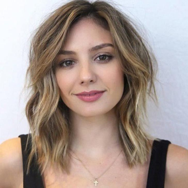 25 Best Haircuts For Round Faces Square Face Hairstyles Haircut For Square Face Face Shape Hairstyles