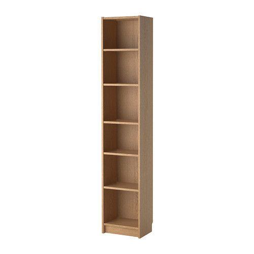IKEA BILLY Bookcase Shelving Unit Storage Shelf Display Rack 40x28x202 cm