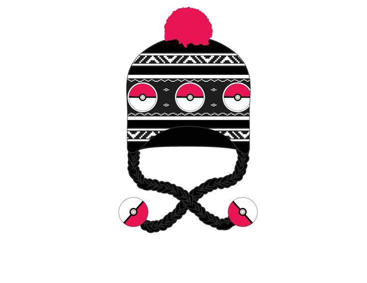 Pokemon Beanie - Pokeball Pom Laplander @Archonia_US