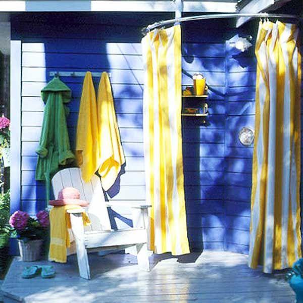 133 best Outdoor Shower Ideas images on Pinterest | Outdoor ...