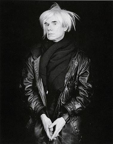 Andy Warhol by ROBERT MAPPLETHORPE