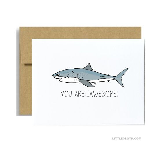 Hey, I found this really awesome Etsy listing at https://www.etsy.com/listing/243016182/you-are-jawesome-awesome-greeting-card