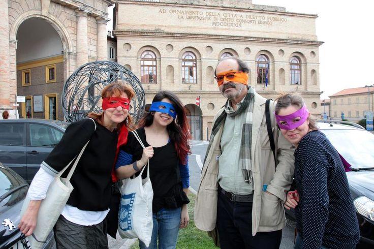 #artninja al #RatataFestival #Macerata @crxpoi @csa_SISMA @maceratamusei #mocreative #IAmArtNinja #enjoythecommunity!