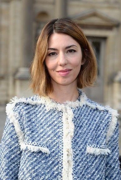 Sofia Coppola haircut