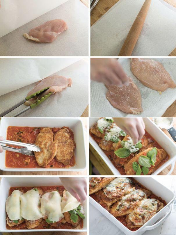 46 best recetas de pollo images on pinterest - Pechugas de pollo al horno ...