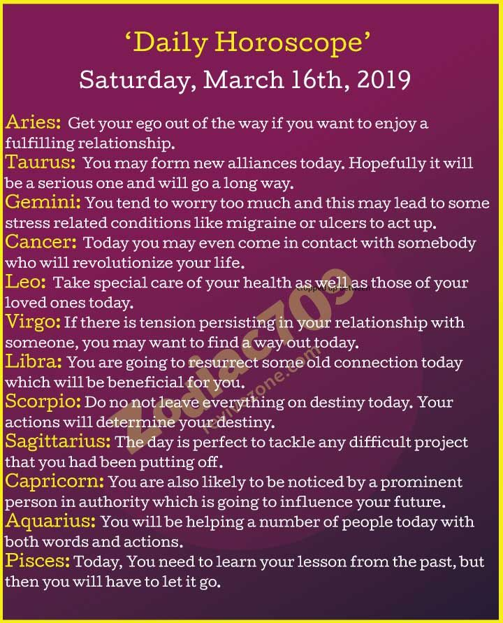 horoscope march 16 virgo