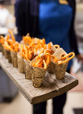 The Smarter Way To Wed Truffle FriesWedding CateringCatering FoodRustic