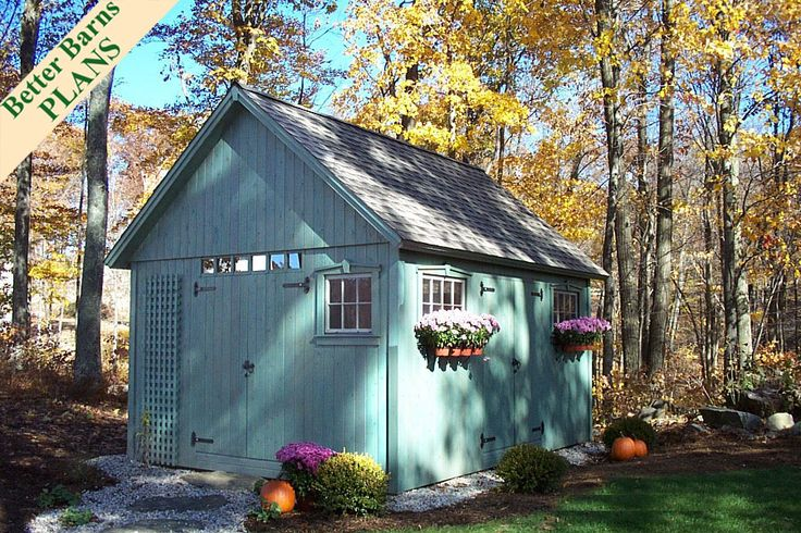 This is what a garden shed should look like