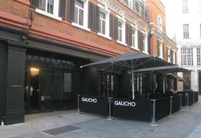 Gaucho Canvas Cafe Barriers #cafe #canvas #gaucho #barriers #pavementscreens #pavementbarriers #logo #blackandwhite #black #alfresco #design #vinyl gauchorestaurants.co.uk