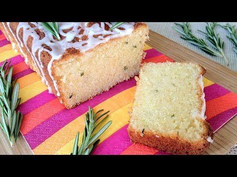 Muy Locos Por La Cocina: Bizcocho de Limón, Romero Fresco y Yogur