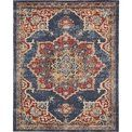 Dulin Blue/Red Area Rug