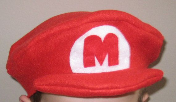 Super Mario Brothers Birthday Party Costume by amyjoyscreations, $7.00