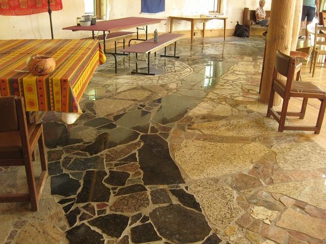 Granite Remnant pathway mosaic