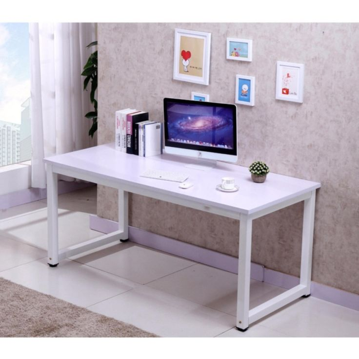 2017 study table study desk computer table computer desk (100L*60W*75H) | Lazada Singapore