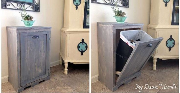 5 Creative Ways To Hide Your Trash Cans